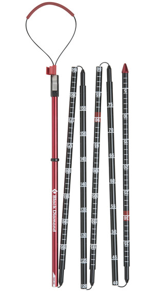 Black Diamond Quickdraw Tour Probe 240 - Sonde avalanche - rouge/noir